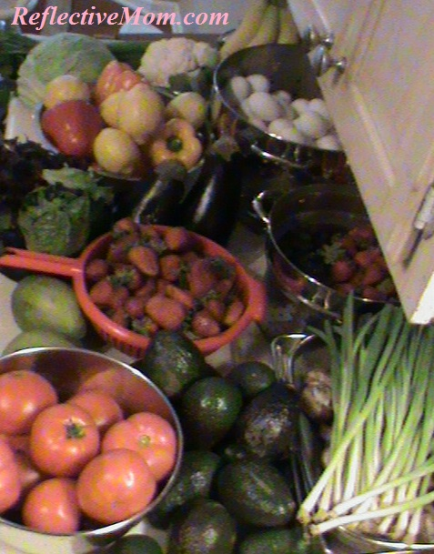 Aldi Produce in Abundance