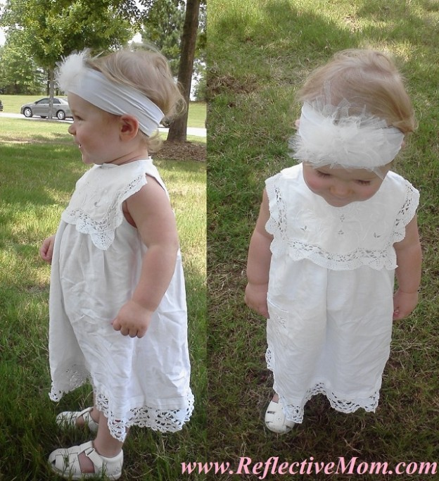 Tights + Tulle + Ten Minutes = Little Girl Headband