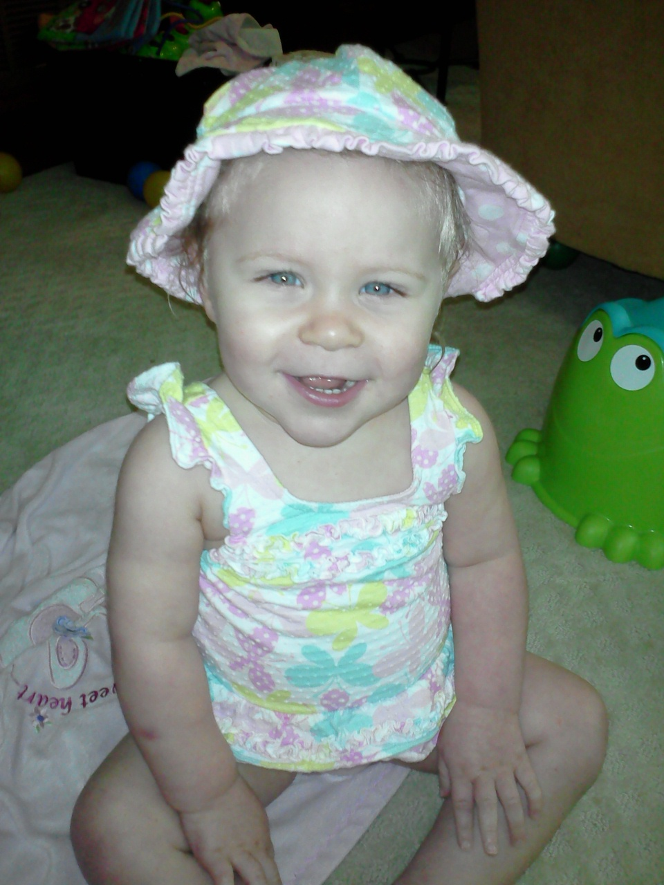 Baby in Hat II