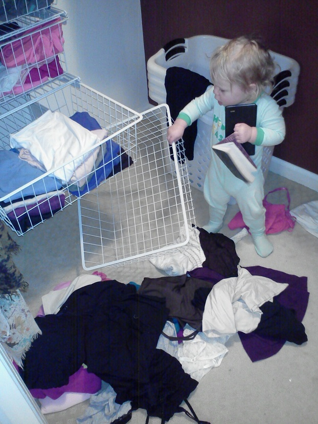 Baby Destroying Closet
