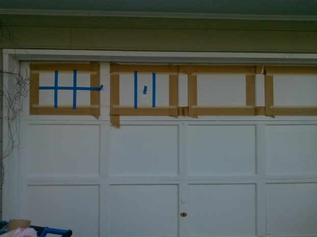 Garage door transformation