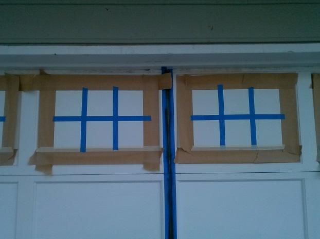 Coach House Garage Door Makeover Reflective Mom