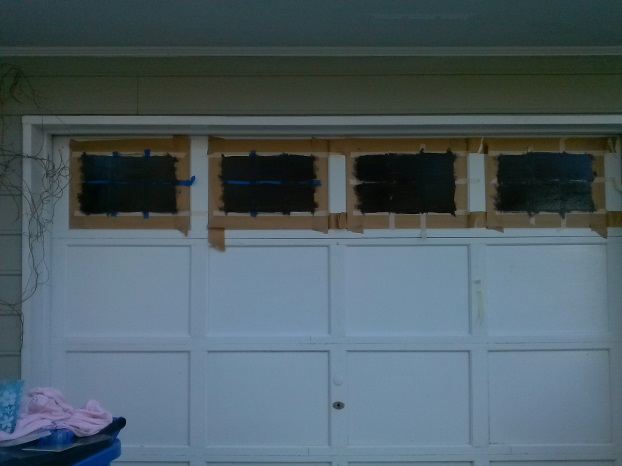 Carriage House Door Transformation