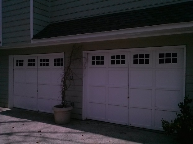 Painted Carriage Doors