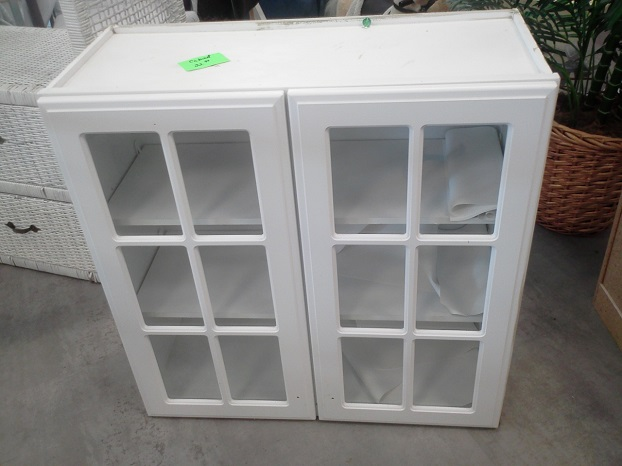 Laundry Room Cabinets at Thrift Store