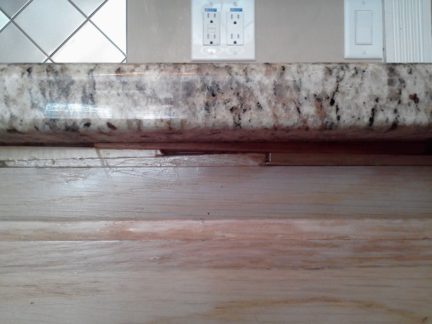 Shimming Granite Countertops