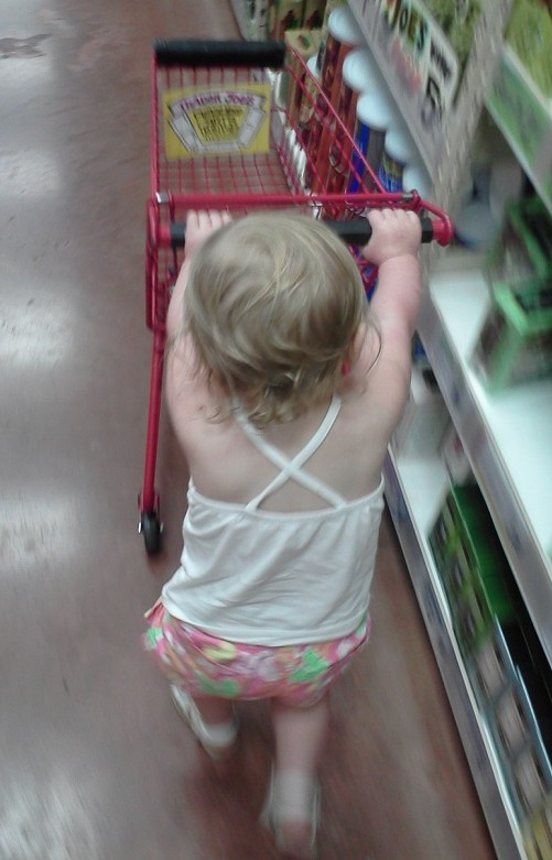 Shopping With A Toddler 2
