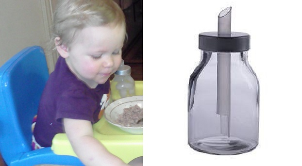 Thinking an IKEA sugar shaker would make a good Glass Baby Bottle Options