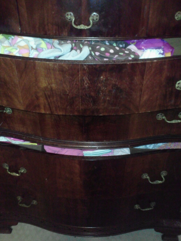 open dresser drawers