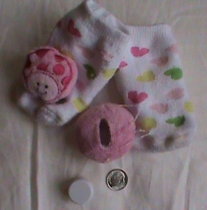 Baby Rattle socks choking hazard danger recall