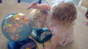 toddler geography teaching children geography