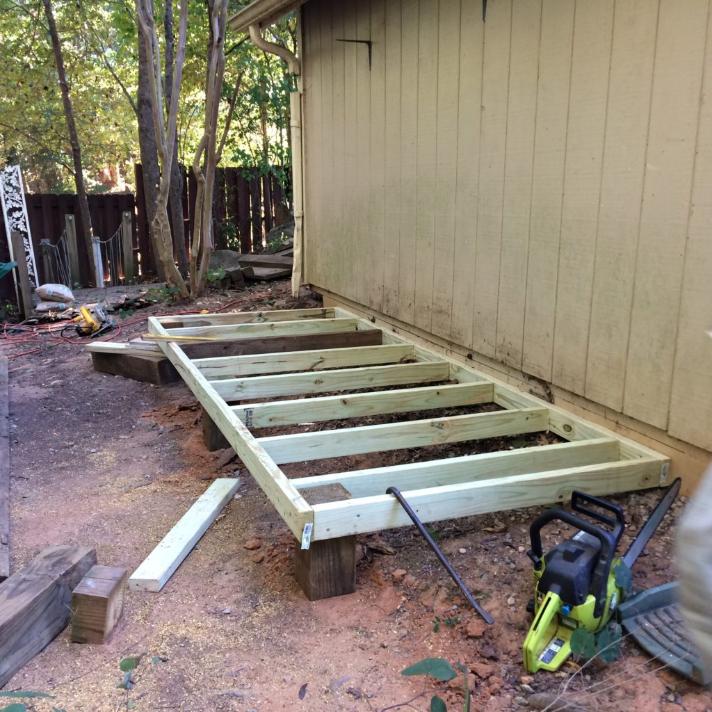 chicken coop floor construction